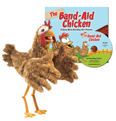 The Band-Aid Chicken & Activity/Ideas CD with Chicken Puppet