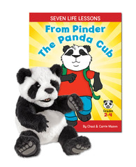Seven Life Lessons From Pinder the Panda Cub with Baby Panda Puppet