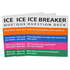 Ice Breaker Cards for Totika Stacking Game