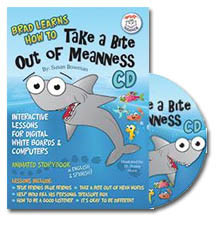 Brad Learns How to Take a Bite Out of Meanness Interactive Lessons CD