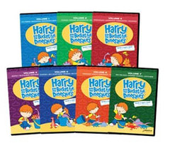 Harry and His Bucket Full of Dinosaurs: Set of 7 DVDs