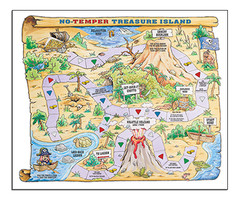 No Temper Treasure Island Game