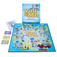 The You & Me Social Skills Board Game-Revised Edition