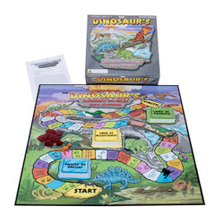 The Dinosaur's Journey to High Self Esteem Board Game