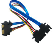 SATA 29P Male to Male Converter Cable