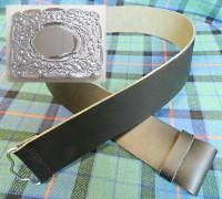 Kilt Belt w/ Thistle Buckle