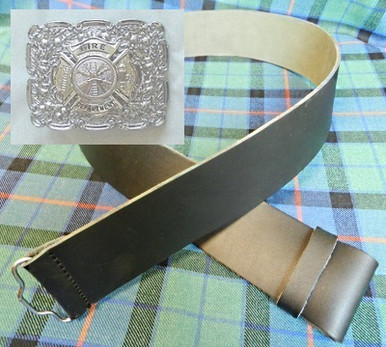 Kilt belt and buckle