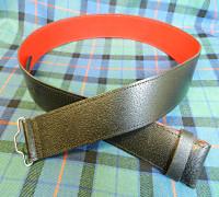 Grained Kilt Belt