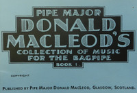 Donald MacLeod's Bagpipe Book vol 1