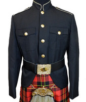 Class A Honor Guard Jacket (Black/Gold)