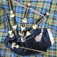 McCallum Fire Department Plastic Bagpipe
