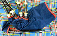 Bag Cover (Corduroy with Flat Braid)