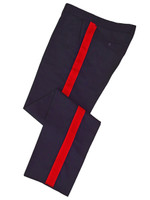 Navy w/ red stripe Honor Guard Pants