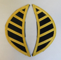 Metallic Shoulder Guards