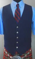 Navy Waistcoat