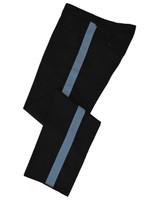 Black w/ Columbia Blue Honor Guard Pants