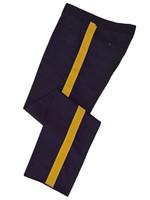 Navy w/ Gold Stripe Honor Guard Pants