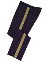 Navy w/ Tan Stripe Honor Guard Pants
