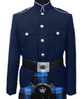 Class A Navy & Silver Jacket
