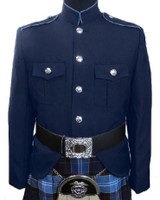 Navy & Medium Blue Class A Jacket
