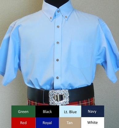 Short Sleeve Pipe Band Shirt