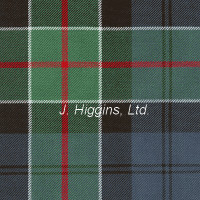 Poly/Viscous tartan by the yard (Colquhoun Anc)