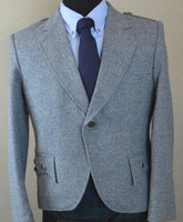 Tweed kilt jacket