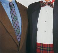 tartan necktie