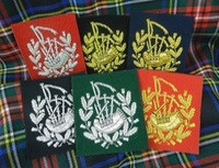 Pipe Major Insignia