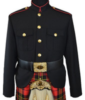 Class A Honor Guard Jacket (Black/Red)