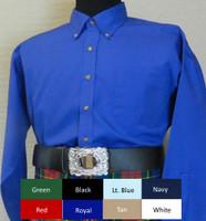 Long Sleeve Pipe Band Shirt
