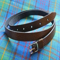 Brown Sporran Strap