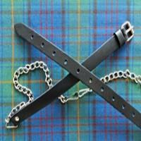 Black & Silver Sporran Chain