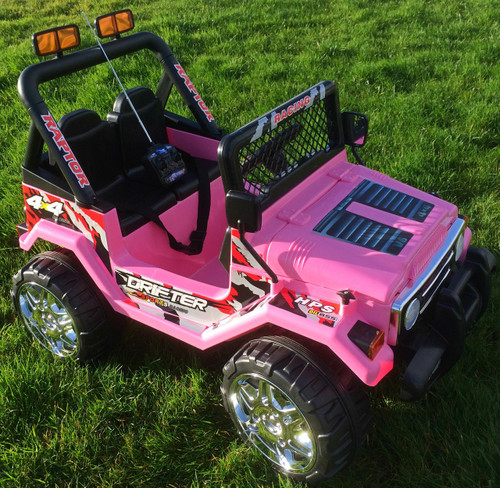 12V 2 Seater 4x4 Truck Jeep (Pink) (S618-PINK)