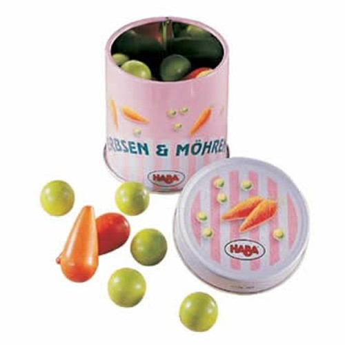 Peas & Carrots in a Tin :: Haba