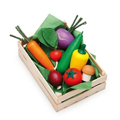 Erzi Assorted Wooden Vegetables