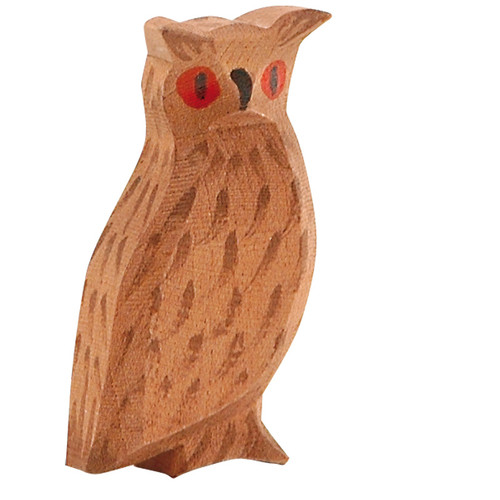 Ostheimer Wooden Eagle Owl