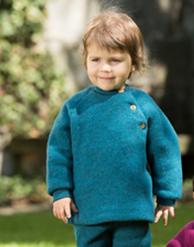 Engel Raglan Sweater - Teal