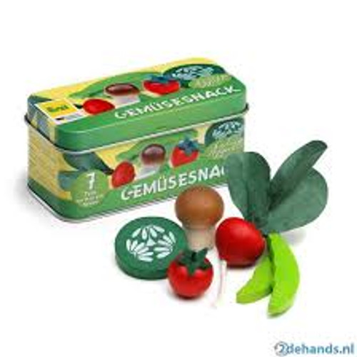 Erzi Vegetables in a tin