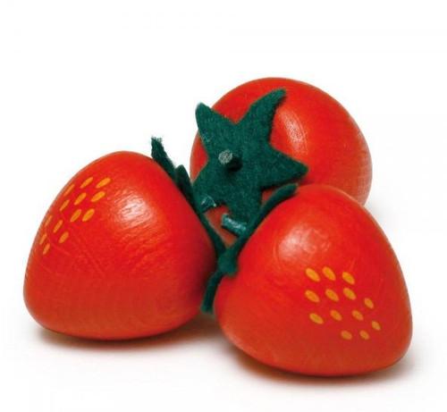 Erzi Wooden Fruits - Strawberry