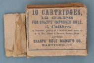 Sharps Rifle Manuf'g Co. Cartridge Box Top