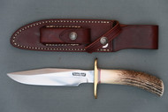 Randall Model 1 All Purpose Fighting Knife With Special Order Stag Handle Left Side