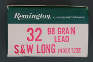 Remington 32 S&W Long Ammunition Right End
