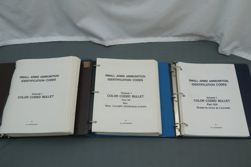 Small Arms Ammunition Identification Codes Volume 1 Color Coded Bullet by E. L. Scranton
