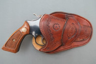 R. M. Bachman Chiefs Special Holster Loaded