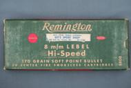 Remington 8 m/m Lebel Hi-Speed Ammo Top
