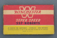 Winchester Super Speed 257 Roberts 100 Grain Hollow Point Ammo Top