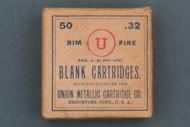 Union Metallic Cartridge Co. 32 Rim Fire Blank Cartridges Circa 1905 Front Side