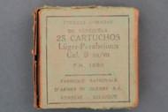 9 mm Luger-Parabellum Fabrique Nationale Oxyless Ammunition Top Label