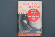 What You Should Know About Our Arms & Weapons by Major James E. Hicks